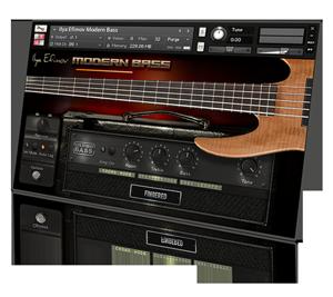 modern bass sampler baixo para kontakt vst library r 13 00 em mercado livre. Black Bedroom Furniture Sets. Home Design Ideas